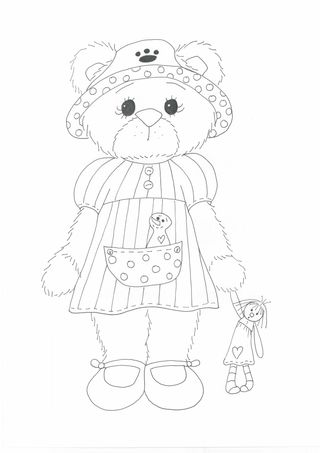Cindy Lou Who Coloring Pages